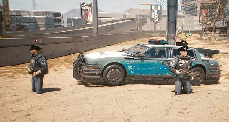 Cyberpunk 2077 на PS4