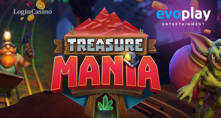 Обзор Treasure Mania от Evoplay Entertainment: золото и приключения