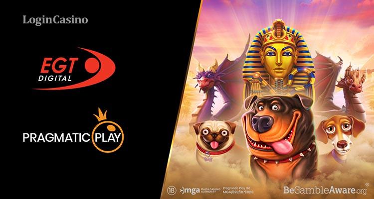 Рынок азартных игр расширился новым партнерством – Pragmatic Play и EGT Digital