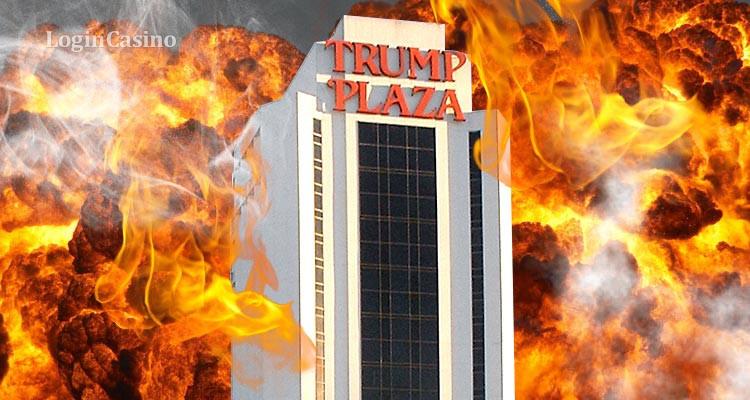 Заброшенное казино Трампа в Атлантик-Сити взорвали