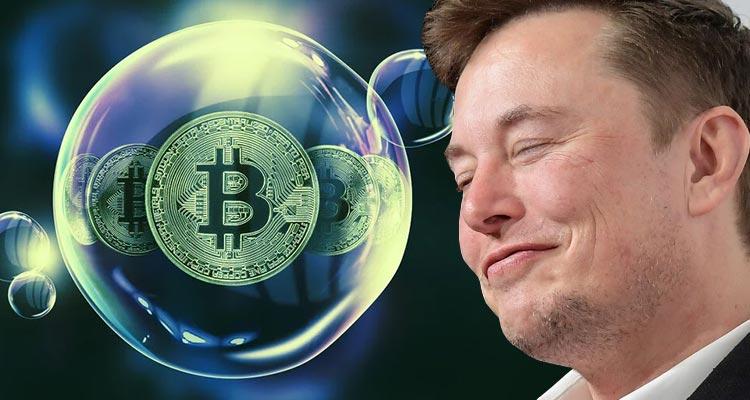 Интерес к первой криптовалюте однозначно подогрел и Илон Маск