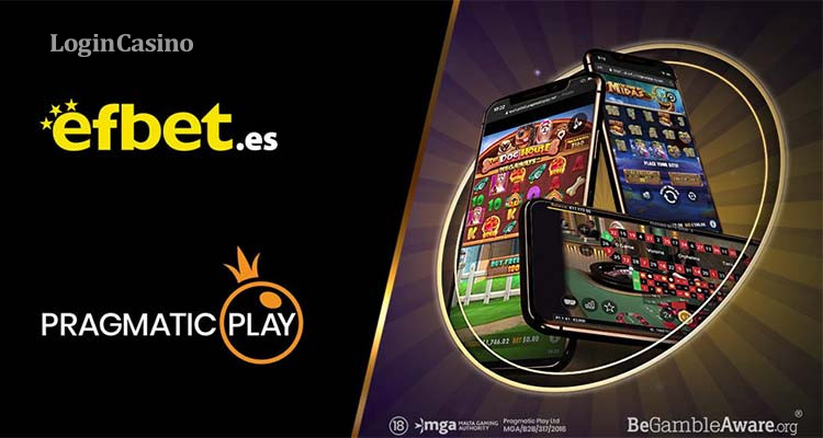 Pragmatic Play запускает несколько продуктов с Efbet для зарубежных игроков