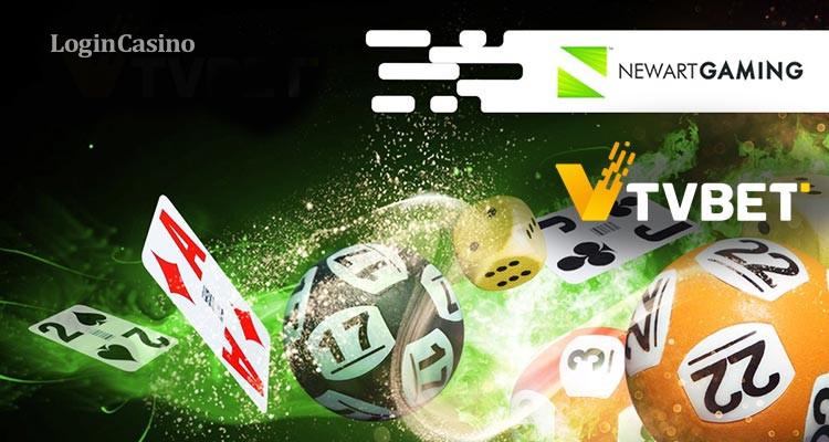 TVBET заключает партнерство с NewArt Gaming