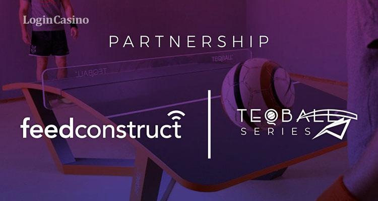 FeedConstruct предлагает эксклюзивное освещение Teqball Series