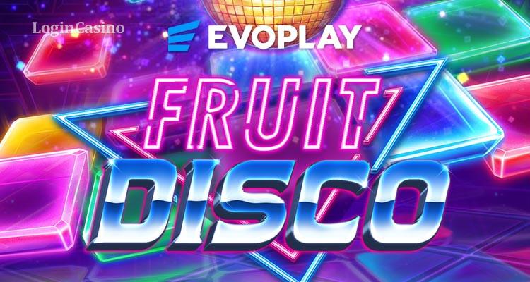 Приключения в неоновых огнях в новом слоте Fruit Disco от студии Evoplay