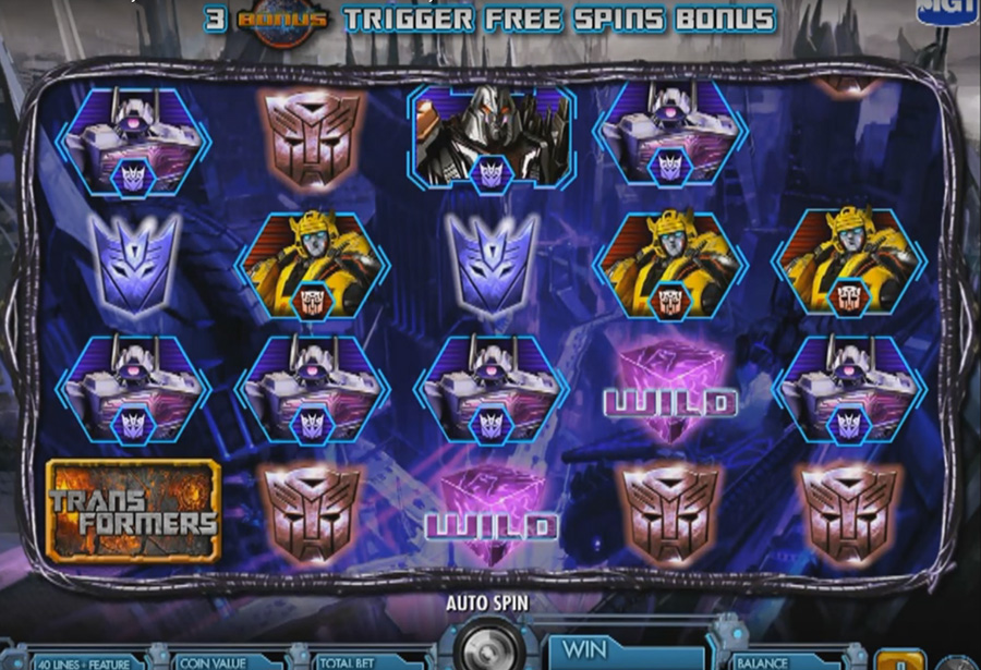 IGT - Transformers: Battle for Cybertron