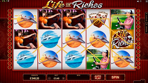 The life of riches slot